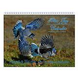Blue jays birds Wall Calendars