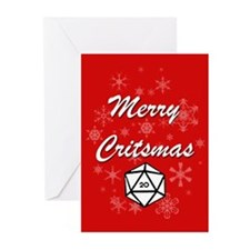 Merry Critsmas Greeting Cards (Pk of 10)