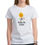Kung Fu Chick Women's T-Shirt