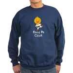 Kung Fu Chick Sweatshirt (dark)