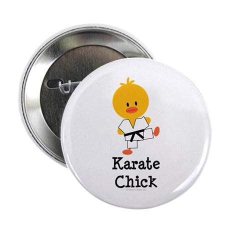 "Karate Chick 2.25"" Button (100 pack)"