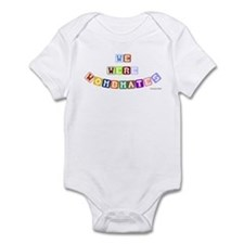 We Were Wombmates! Infant Bodysuit
