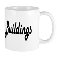 I Luv Old Buildings Mug