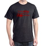 Clap Your Hands (Red) Black T-Shirt
