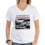 Team Mustang Women's V-Neck T-Shirt