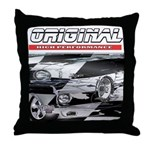 Team Mustang Throw Pillow