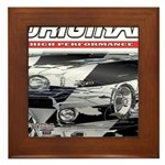 Team Mustang Framed Tile
