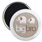 big brother t-shirt big and little elephant Magnet