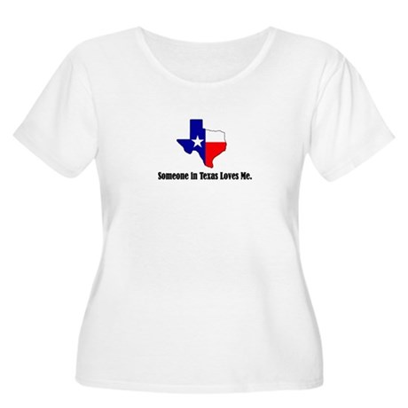 Someone in Texas Loves Me Women's Plus Size Scoop
