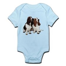 Basset Hounds Infant Bodysuit