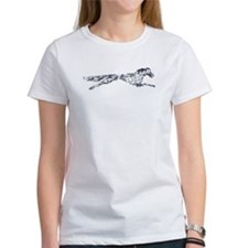 Leaping English Setter Tee