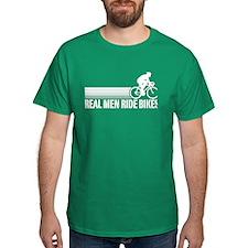 Real Men Ride Bikes T-Shirt