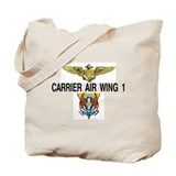 US NAVY CVW-1 Tote Bag