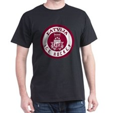 LV Latvia/Latvija Hockey T-Shirt