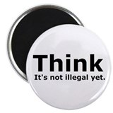 "Think it's not illegal yet. 2.25"" Magnet (100 pack"