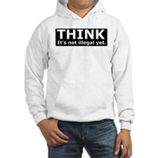 Think it's not illegal yet. Hoodie
