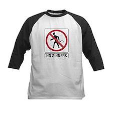 No Sinners sign Tee