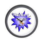 Hocky Mom Wall Clock