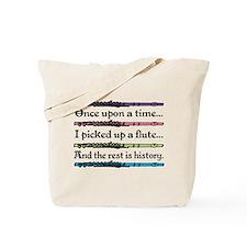 Flute Fairytale Tote Bag