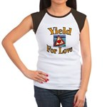 Yield for Love Women's Cap Sleeve T-Shirt