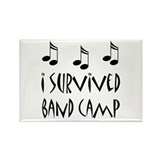 I Survived Band Camp Rectangle Magnet