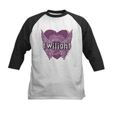 Twilight Violet Shadows Winged Crest Tee