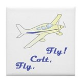 Fly, Colt, Fly Colton Harris- Tile Coaster