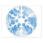 snowflake Small Poster