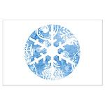 snowflake Large Poster