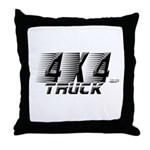 4x4 Truck 2 Throw Pillow