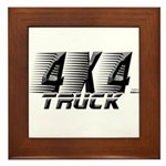 4x4 Truck 2 Framed Tile