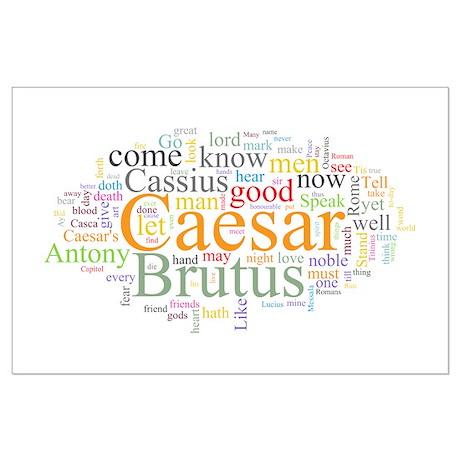 Julius Caesar Large Poster