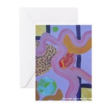 Cute Midwives Greeting Cards (Pk of 10)