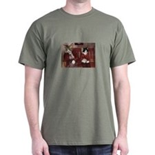 Cats on a Bench T-Shirt
