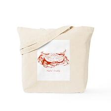 """""""Feelin' Crabby"""" Tote Bag"""
