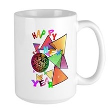 Exploding New Years Ball Mug
