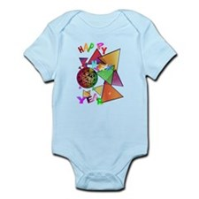 Exploding New Years Ball Infant Bodysuit