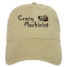funny machinist cnc Baseball Cap