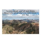 Mountains Speak Postcards (Package of 8)
