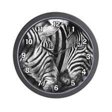 Zebras Wall Clock