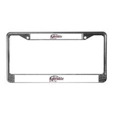 Aphrodite License Plate Frame