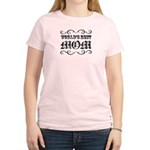 World's Best Mom Women's Light T-Shirt