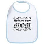 World's Best Mom Bib