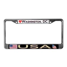 Washington DC, USA - License Plate Frame