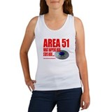 AREA 51 TOP SECRET, Women's Tank Top