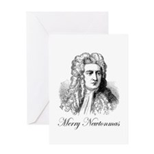 Merry Newtonmas Greeting Card