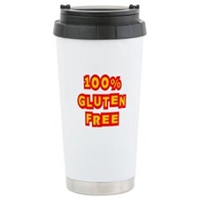 100% Gluten Free Ceramic Travel Mug