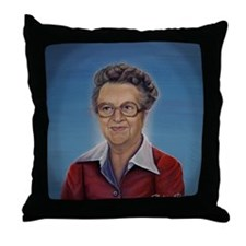 Unique Lucille Throw Pillow
