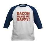 Bacon Makes Me Happy Tee