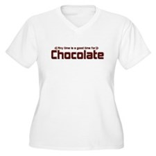 Any Time Chocolate T-Shirt